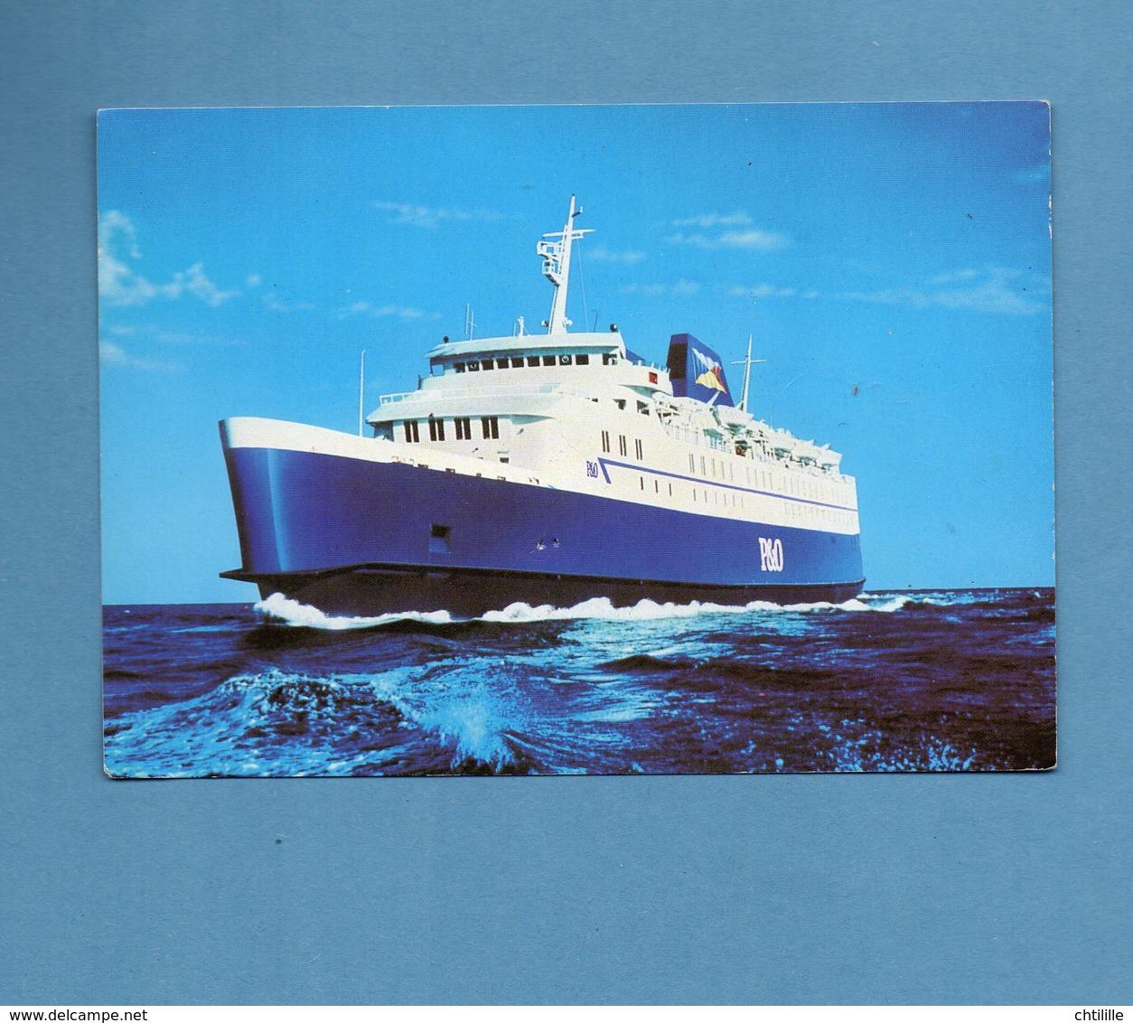 CP1372 UNE CARTE P & O P&O EUROPEAN FERRIES - Ferries
