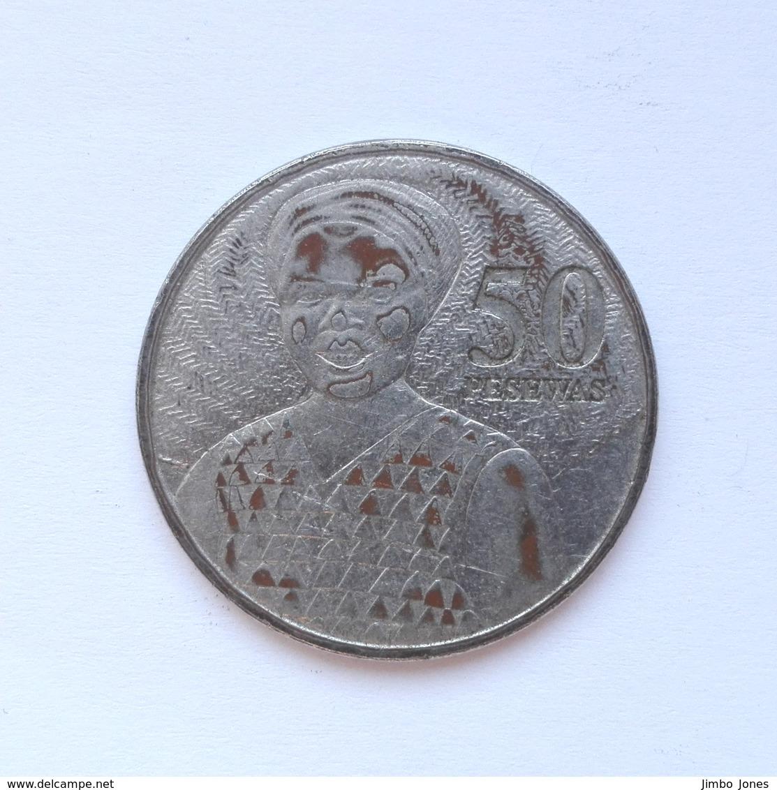 50 Pesewas Münze Aus Ghana Von 2007 (schön) - Ghana