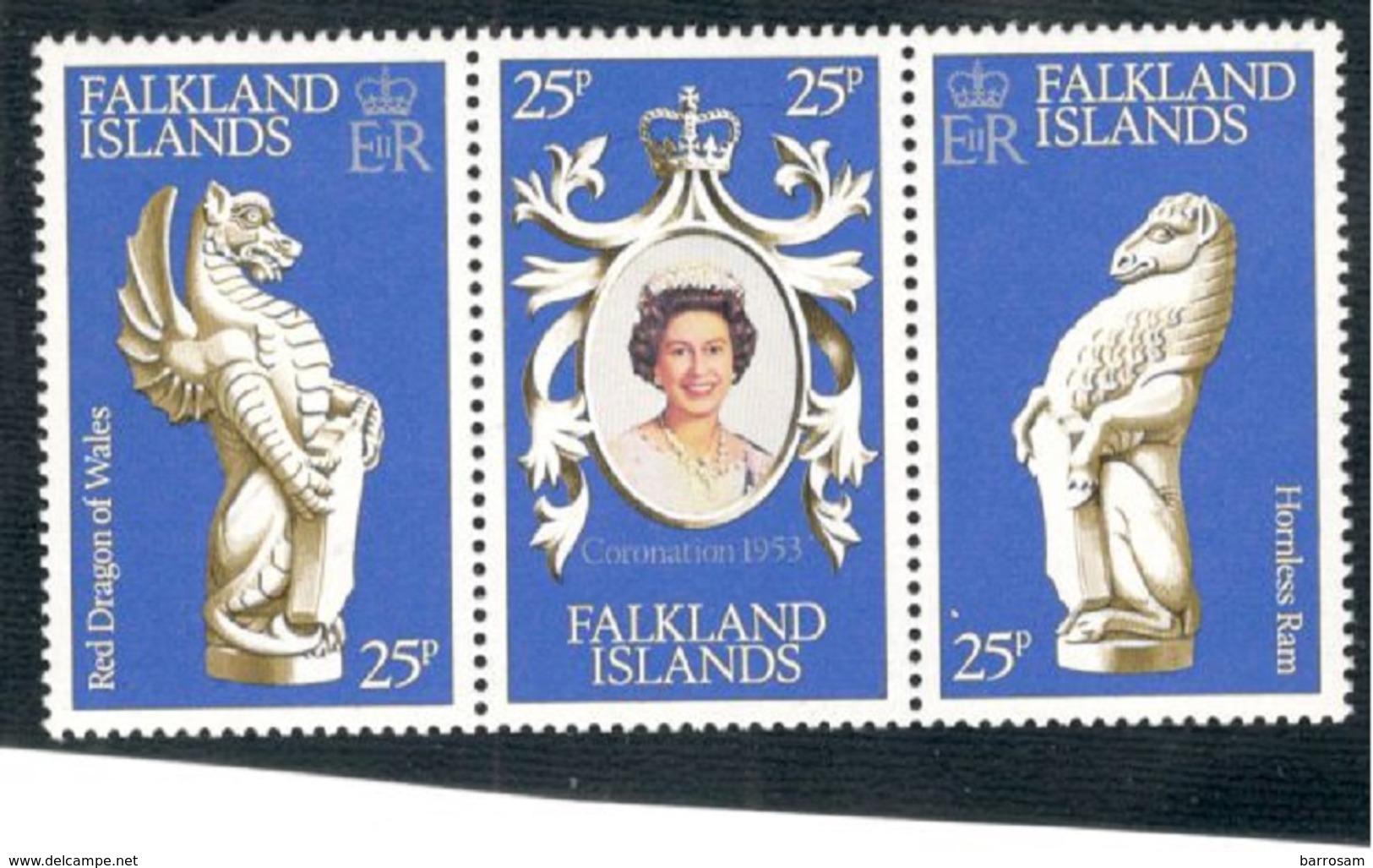 FALKLAND:1978 Michel272-4mnh** - Falkland Islands