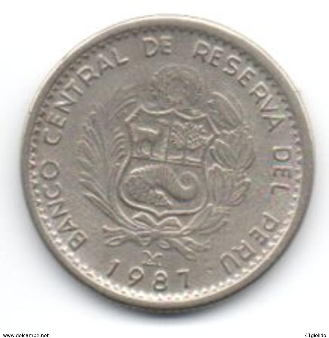Peru 1 Inti 1987 - Perú