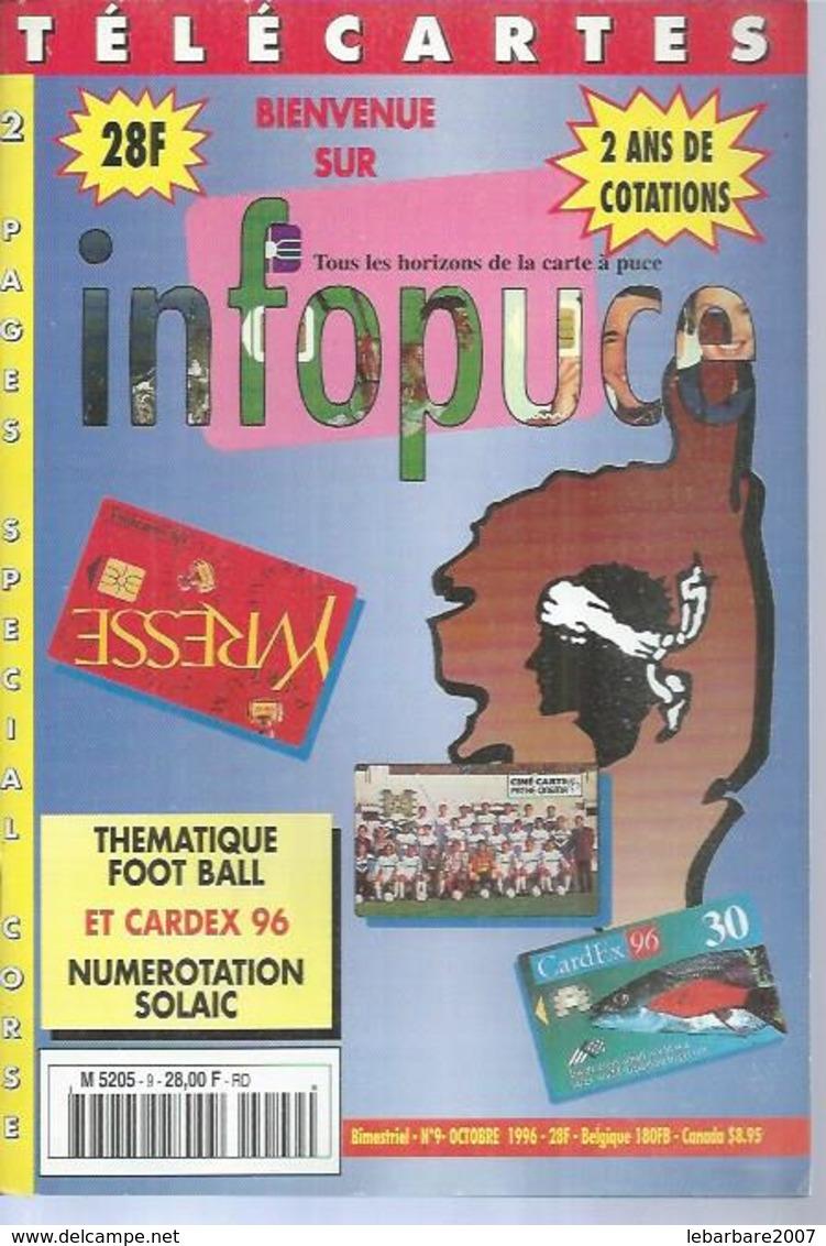 TELECARTES - INFOPUCE N° 9  - 1996 - Kataloge & CDs