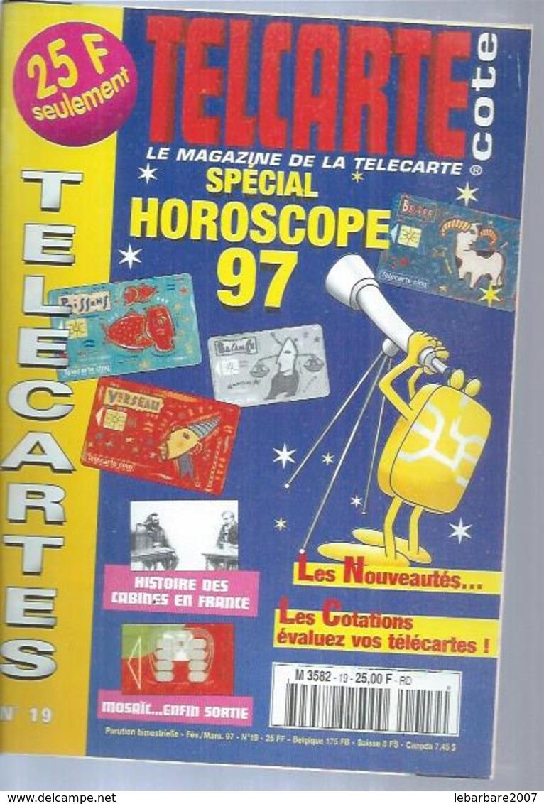 TELECARTES - COTE N° 19  - 1997 - Telefonkarten