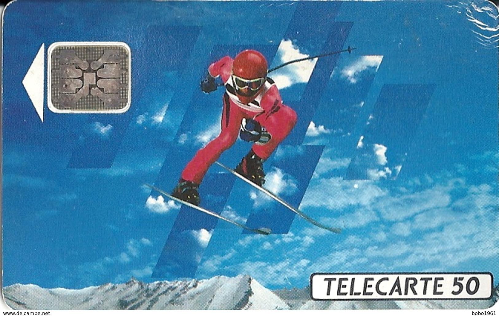 FRANCE TELECOM / ALBERTVILLE 92 - SKI DE DESCENTE - Jeux Olympiques