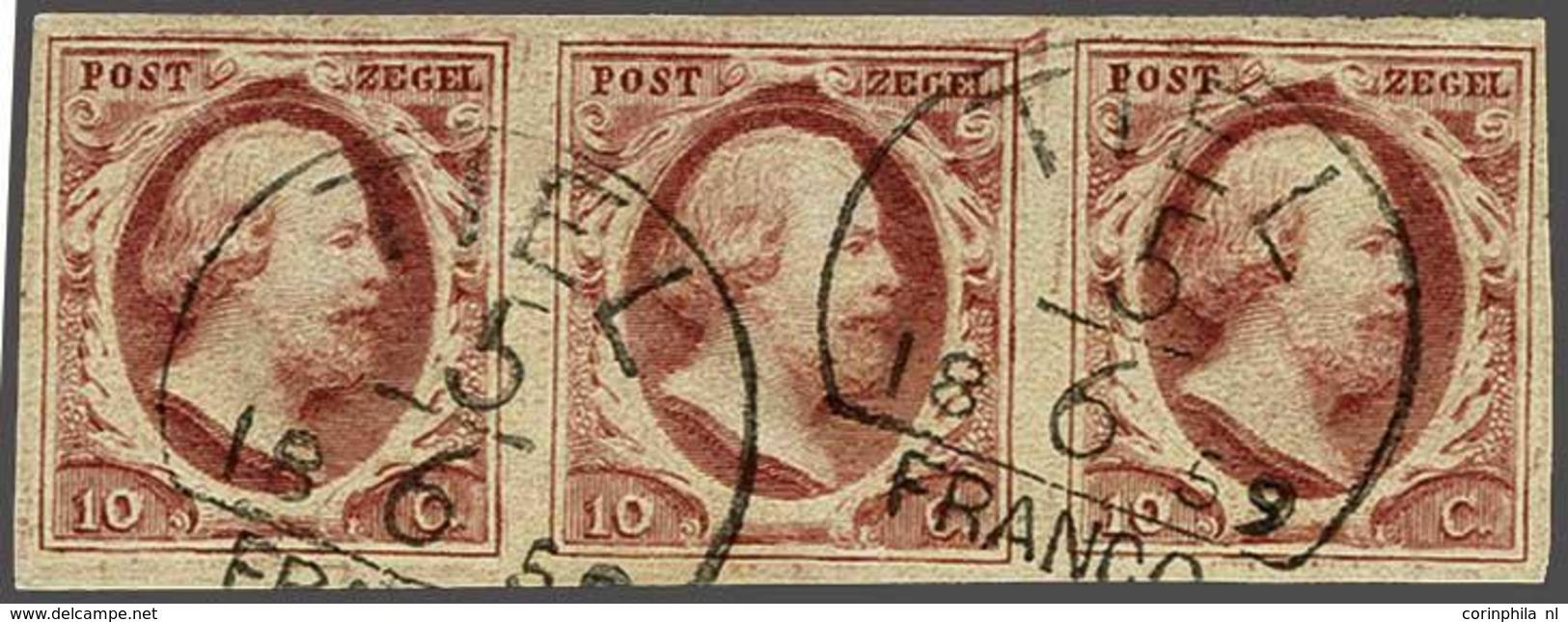 NL 1852 King William III - Non Classificati