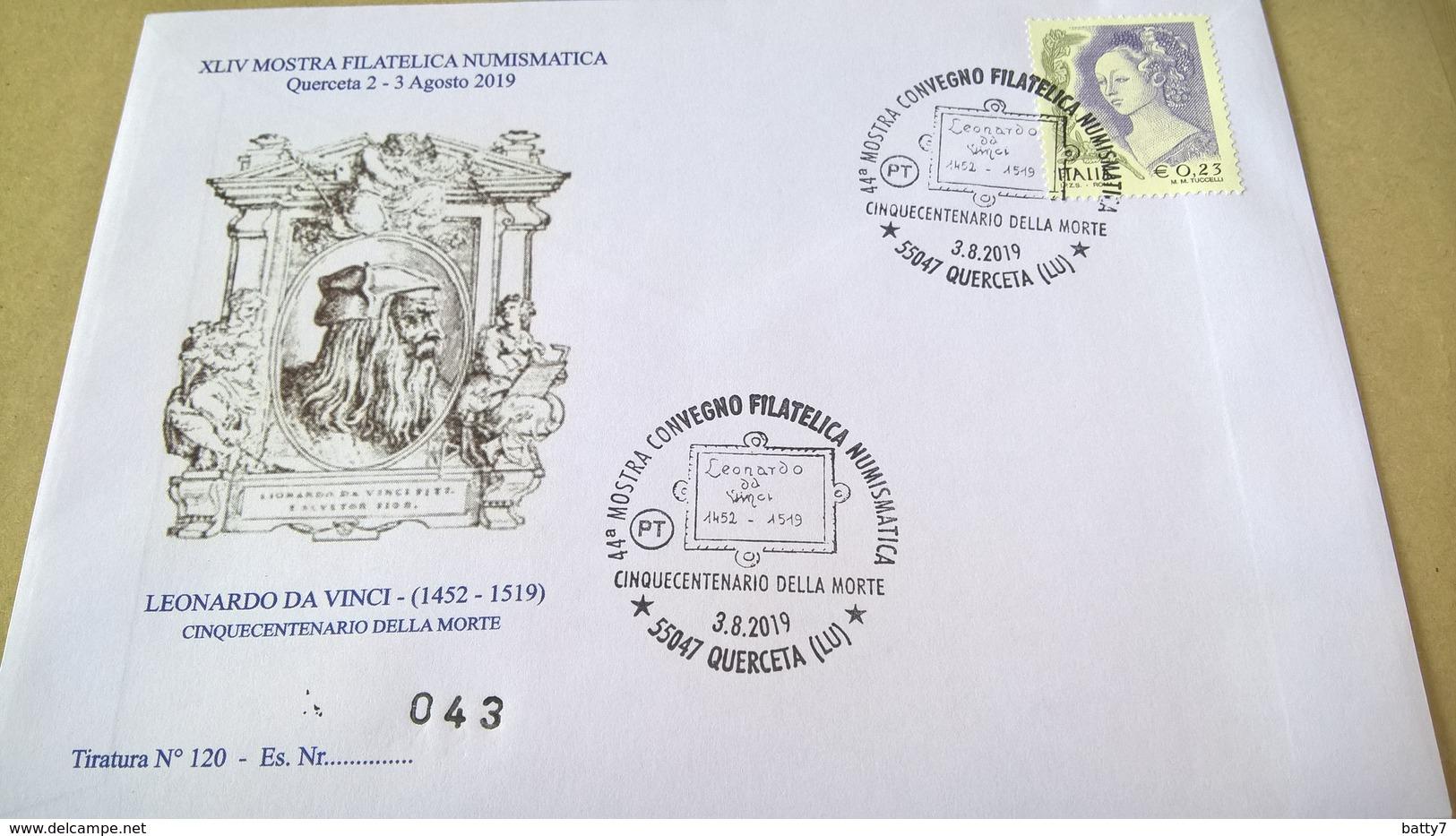 ITALIA 2019 LEONARDO DA VINCI - QUERCETA - Manifestazioni