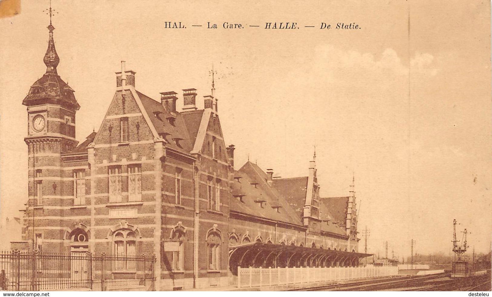 De Statie Hal Halle - Halle