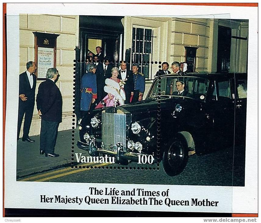 Vanuatu ** Bloc N° 7 - 85e Ann. De La Reine-mère Elizabeth - Vanuatu (1980-...)