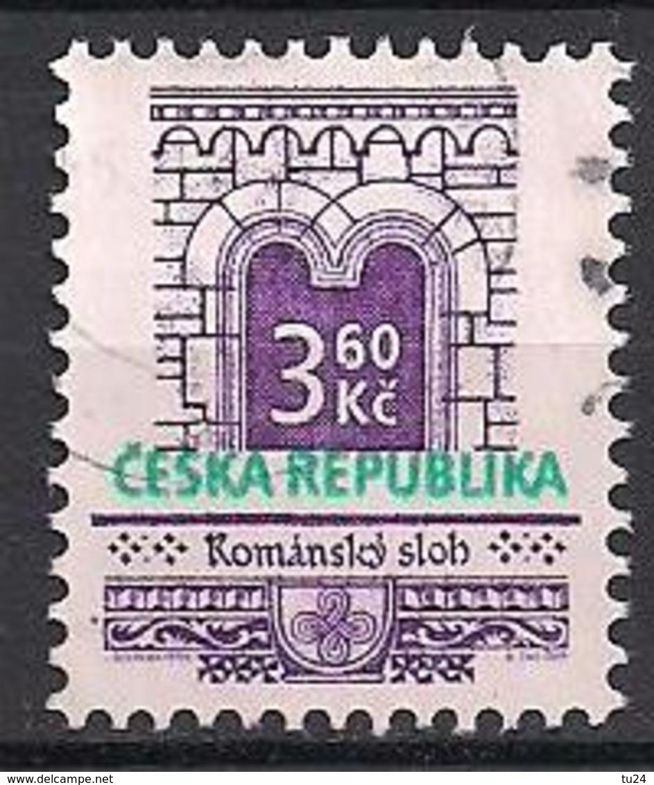 Tschechien  (1995)  Mi.Nr.  95  Gest. / Used  (8fc39) - Gebraucht