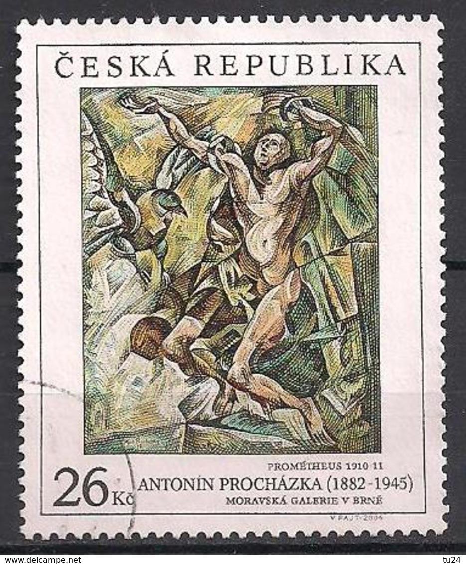 Tschechien  (2004)  Mi.Nr.  390  Gest. / Used  (6fc16) - Tschechische Republik