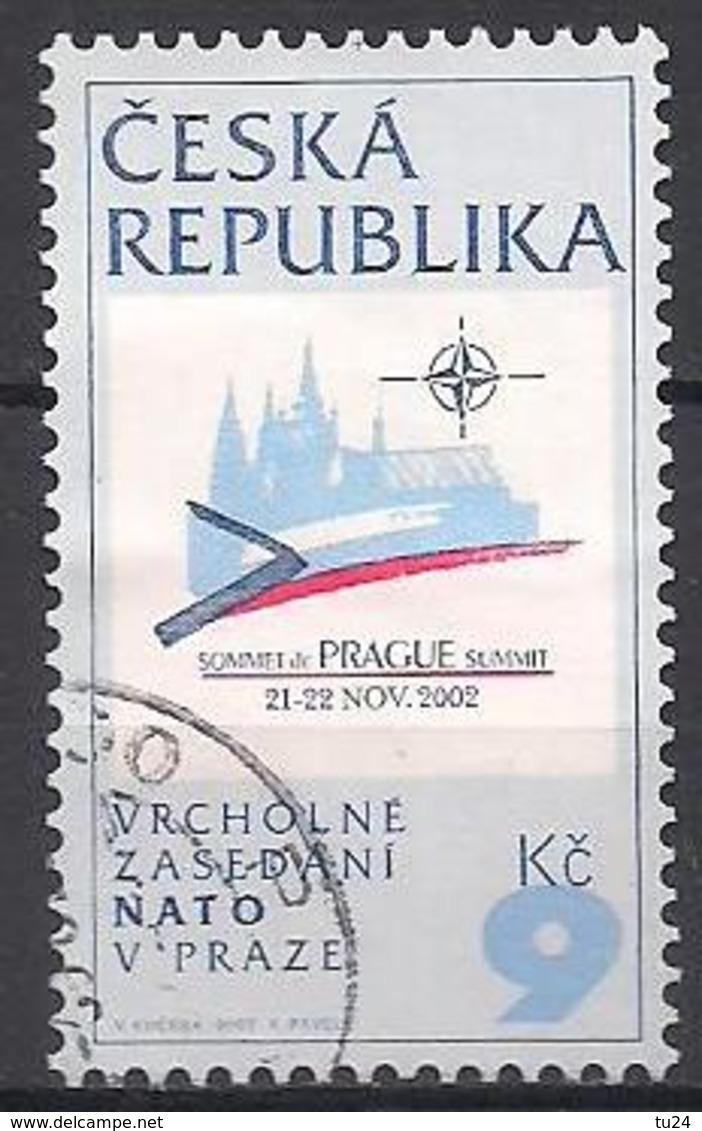 Tschechien  (2002)  Mi.Nr.  337  Gest. / Used  (5fc17) - Tschechische Republik