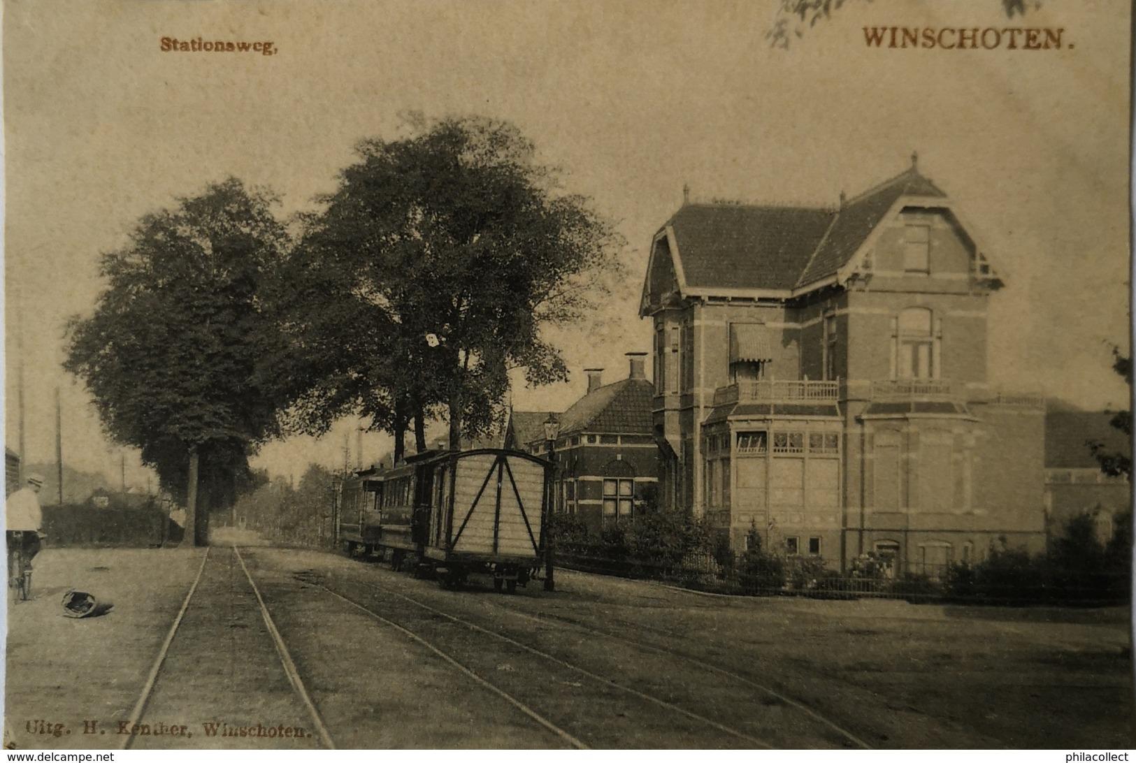 Winschoten // Stationsweg 19?? De Tulp Zeldzaam - Topkaart - Winschoten
