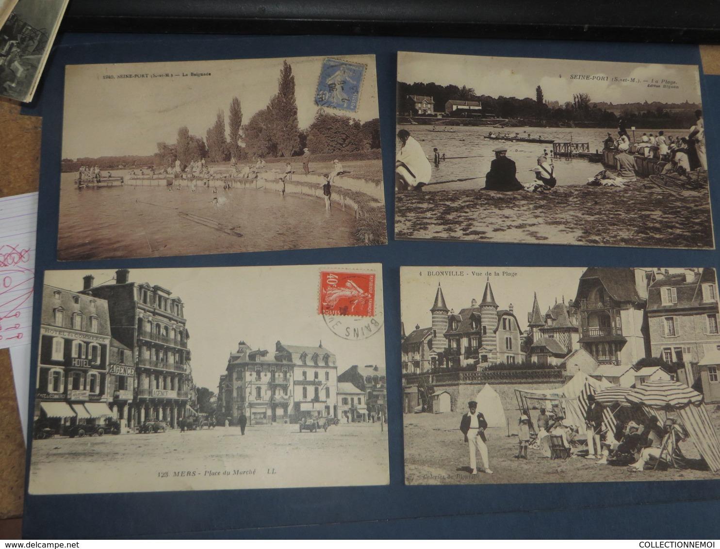 Lot De 47 Cartes Postales 95% Minimum FRANCE,grandes Et Petites Animations  (lot 206 ) - 5 - 99 Karten