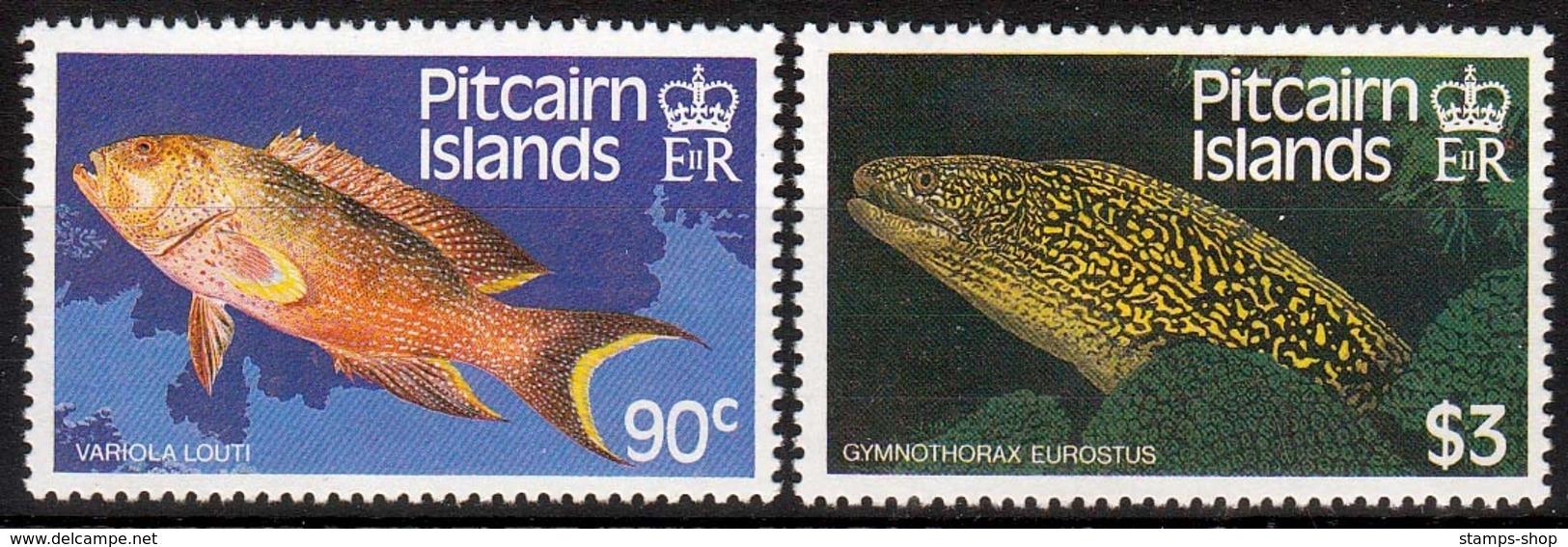 Pitcairn MiNr. 305/06 ** Fische - Pitcairninsel