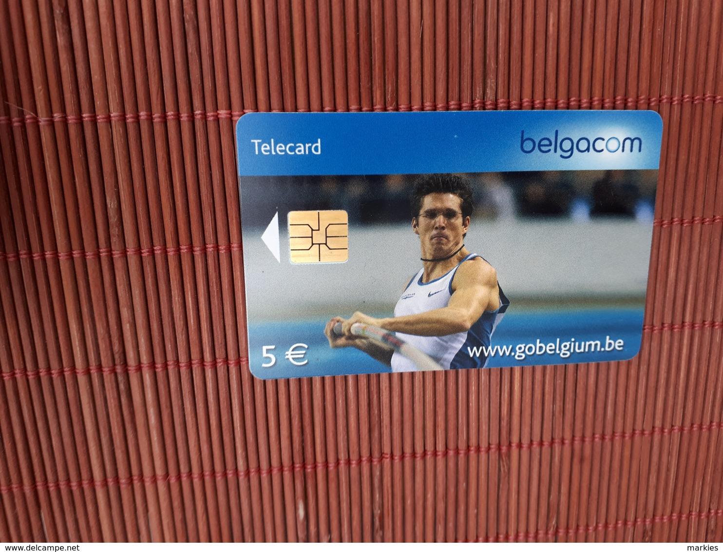Phonecard Sport  Used Rare - Belgien