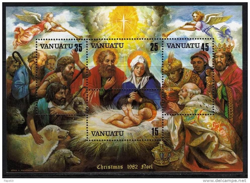 VANUATU  B.F. N° 3 XX Noël    Le Bloc Sans Charnière TB - Vanuatu (1980-...)