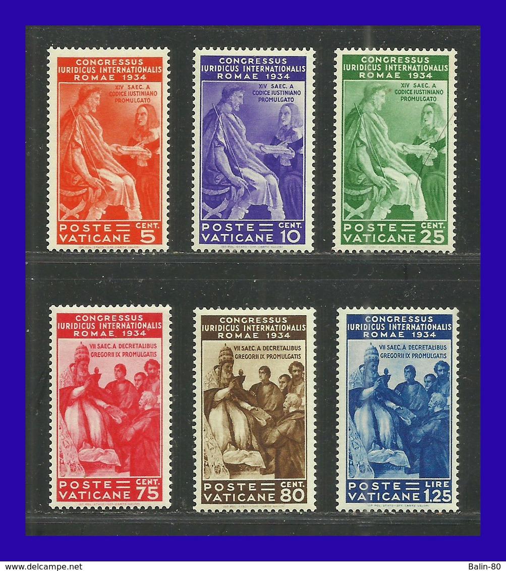 1935 - Vaticano - Scoot Nº 41  46 - MLH - VA- 229 - Señal De Fijasellos Casi Invisibles - OCASION - Vaticano (Ciudad Del)
