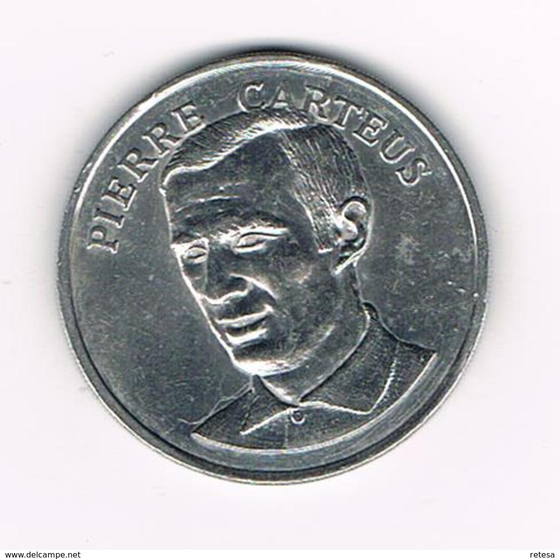 //  PENNING BP  PIERRE  CARTEUS - Pièces écrasées (Elongated Coins)