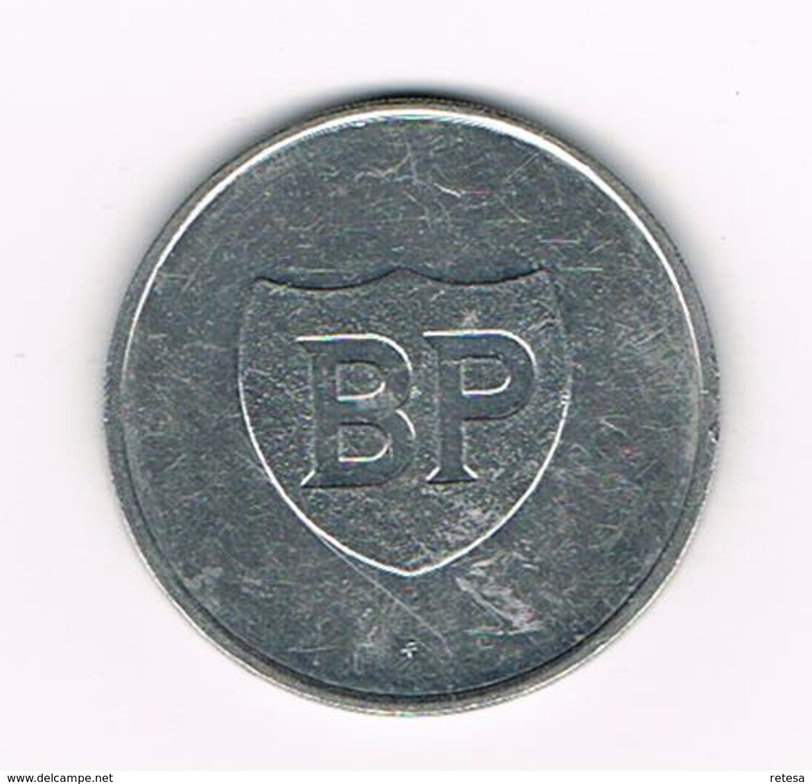 //  PENNING BP  SERGE  REDING - Pièces écrasées (Elongated Coins)