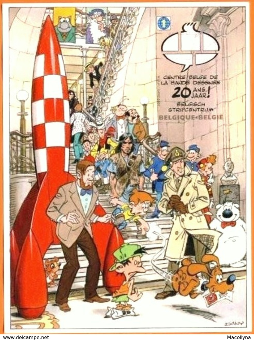 Blok 173** Kuifje In Het Stripmuseum Ongetand - Tintin Et La BD Feuille Non-Dentelée- Bloc 173 Imperforated - Belgium
