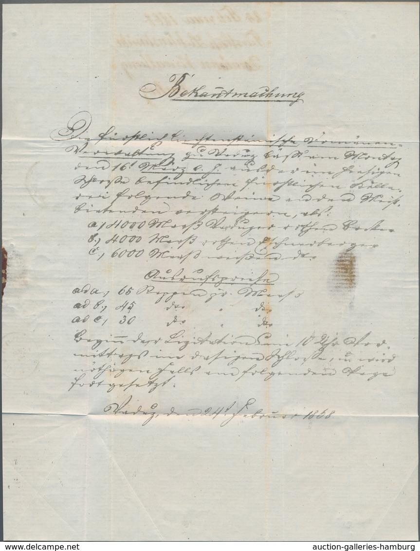 Österreich - Verwendung In Liechtenstein: 1868, 5 Kr. Rot Kaiserkopf Nach Rechts, Grober Druck, Type - Austria