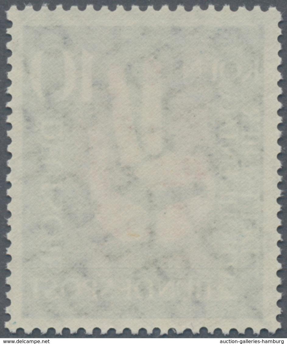 Bundesrepublik Deutschland: 1956, Deutscher Katholikentag Zu 20 (Pf) Als Postfrischer Probedruck In - BRD