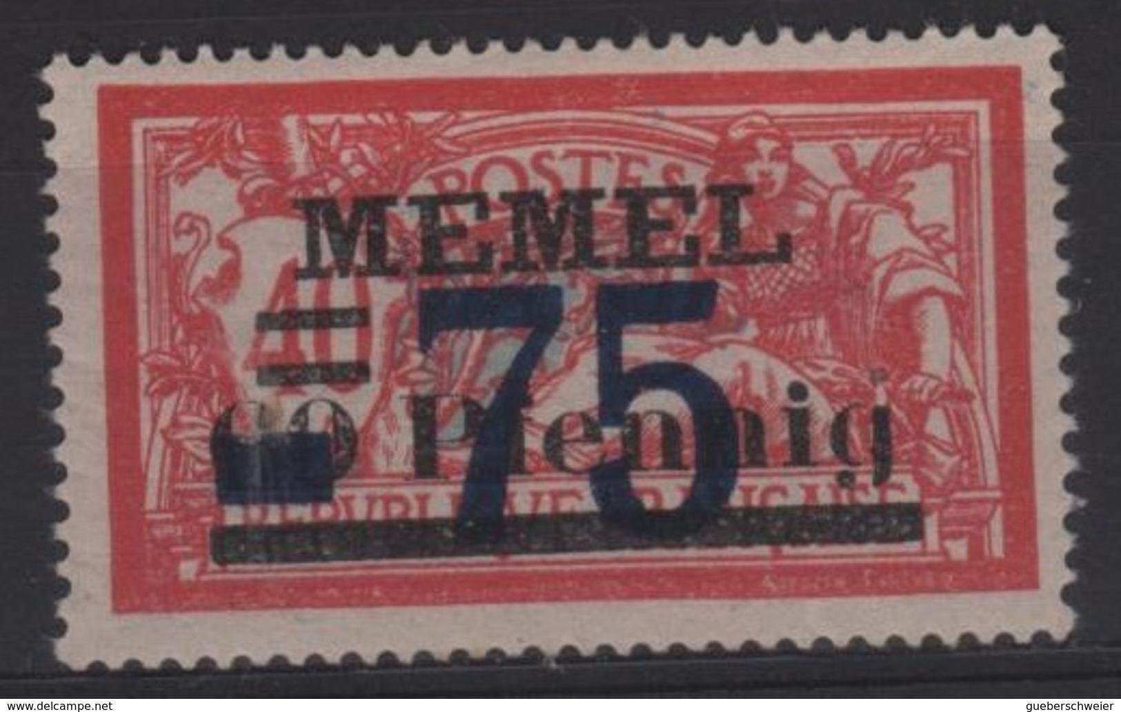 MEM 47 - MEMEL Merson N° 42 Neuf** - Neufs