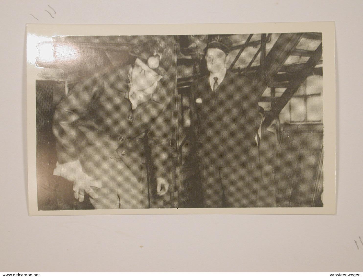 Waterschei :  Bezoek Koning Boudewijn 1962 - Genk