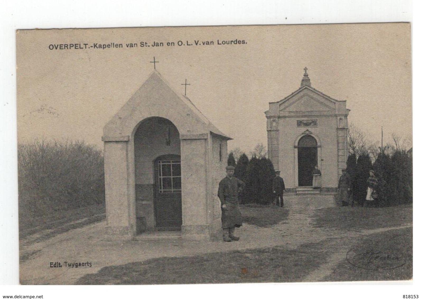 OVERPELT - Kapellen Van St.Jan En O.L.V.van Lourdes - Overpelt