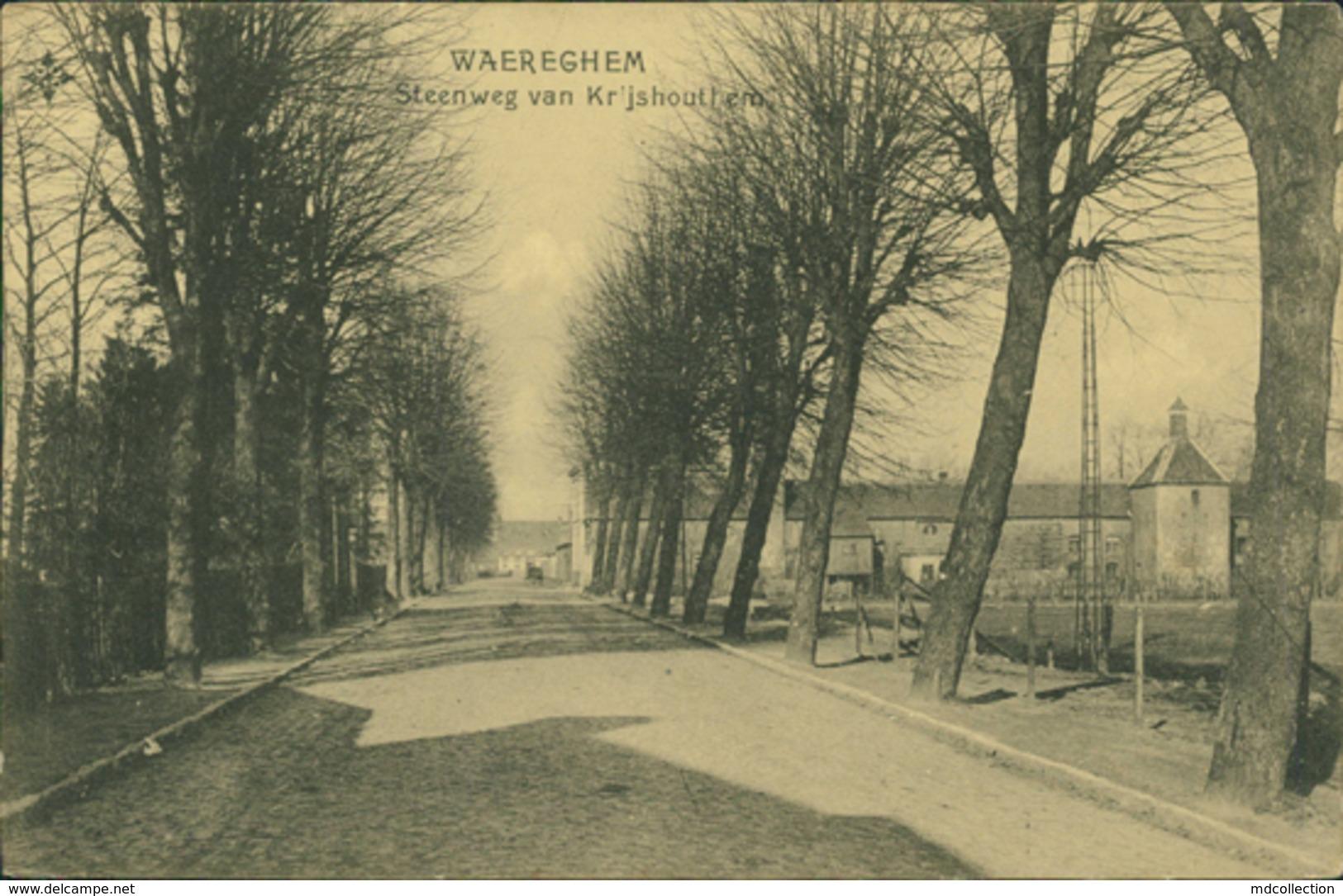 BE WAREGEM / Steenweg Van Kr'Jshoutthem / - Waregem