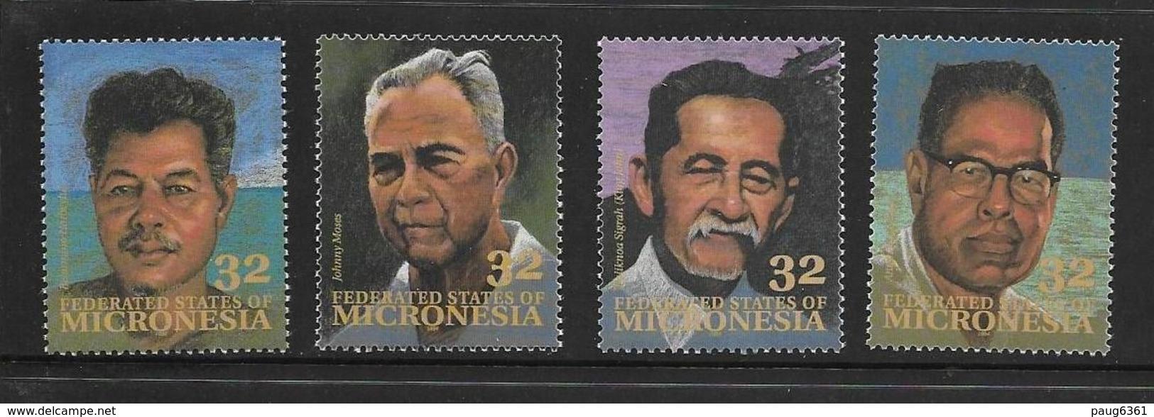MICRONESIE 1994 CELEBRITES  YVERT N°328/33  NEUF MNH** - Micronésie