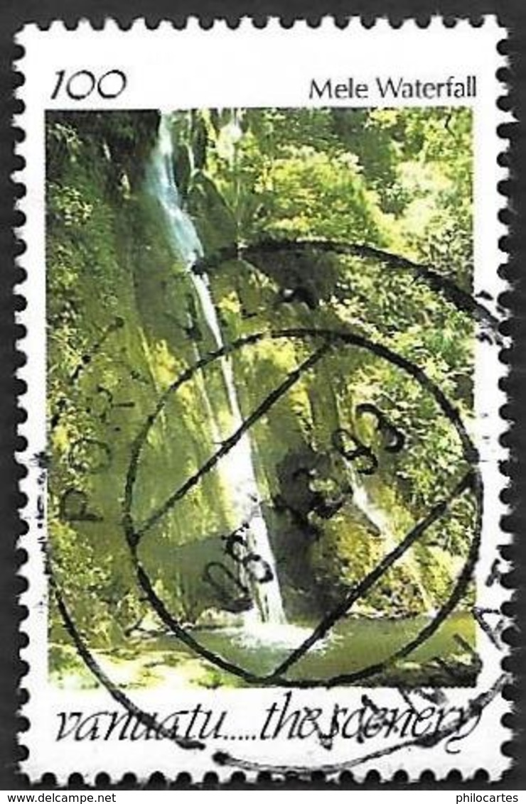 VANUATU  1991-   YT 928  - Cascade   -  Oblitéré - Vanuatu (1980-...)