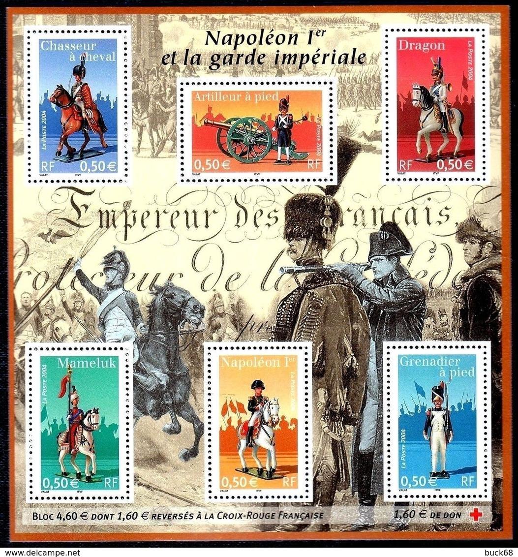 FRANCE Bloc   72 ** MNH Napoléon Bonaparte Et Garde Impériale Dragon Mameluk Grenadier Artilleur - Mint/Hinged