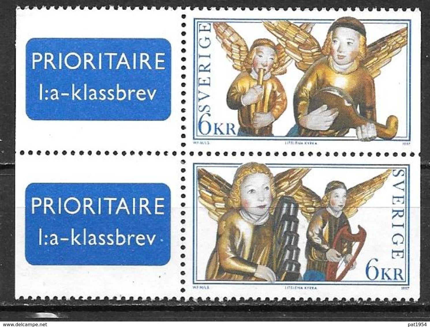 Suède 1997 2009/2010 Neufs Noël - Nuevos