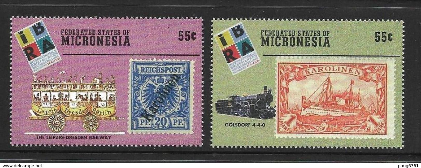 MICRONESIE 1999 IBRA'99  YVERT N°622/23  NEUF MNH** - Micronésie