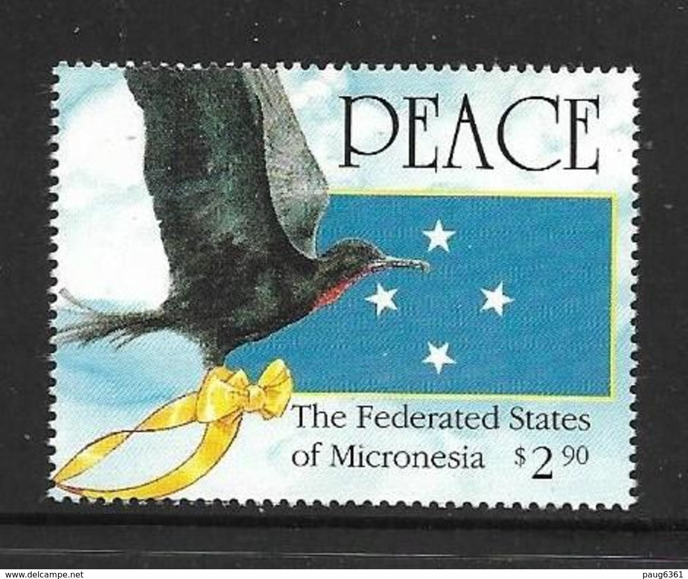 MICRONESIE 1991 GUERRE DE GOLFE  YVERT N°172  NEUF MNH** - Micronésie
