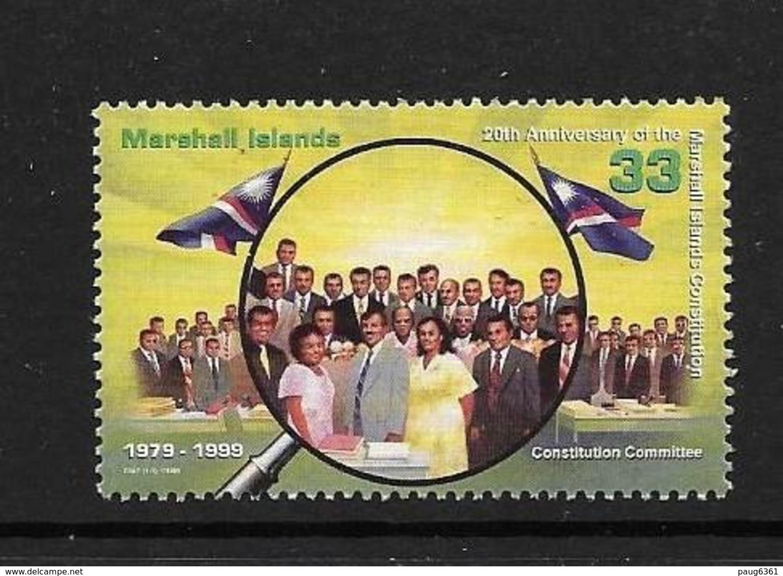 MARSHALL 1999 CONSTITUTION  YVERT N°1128 NEUF MNH** - Micronésie