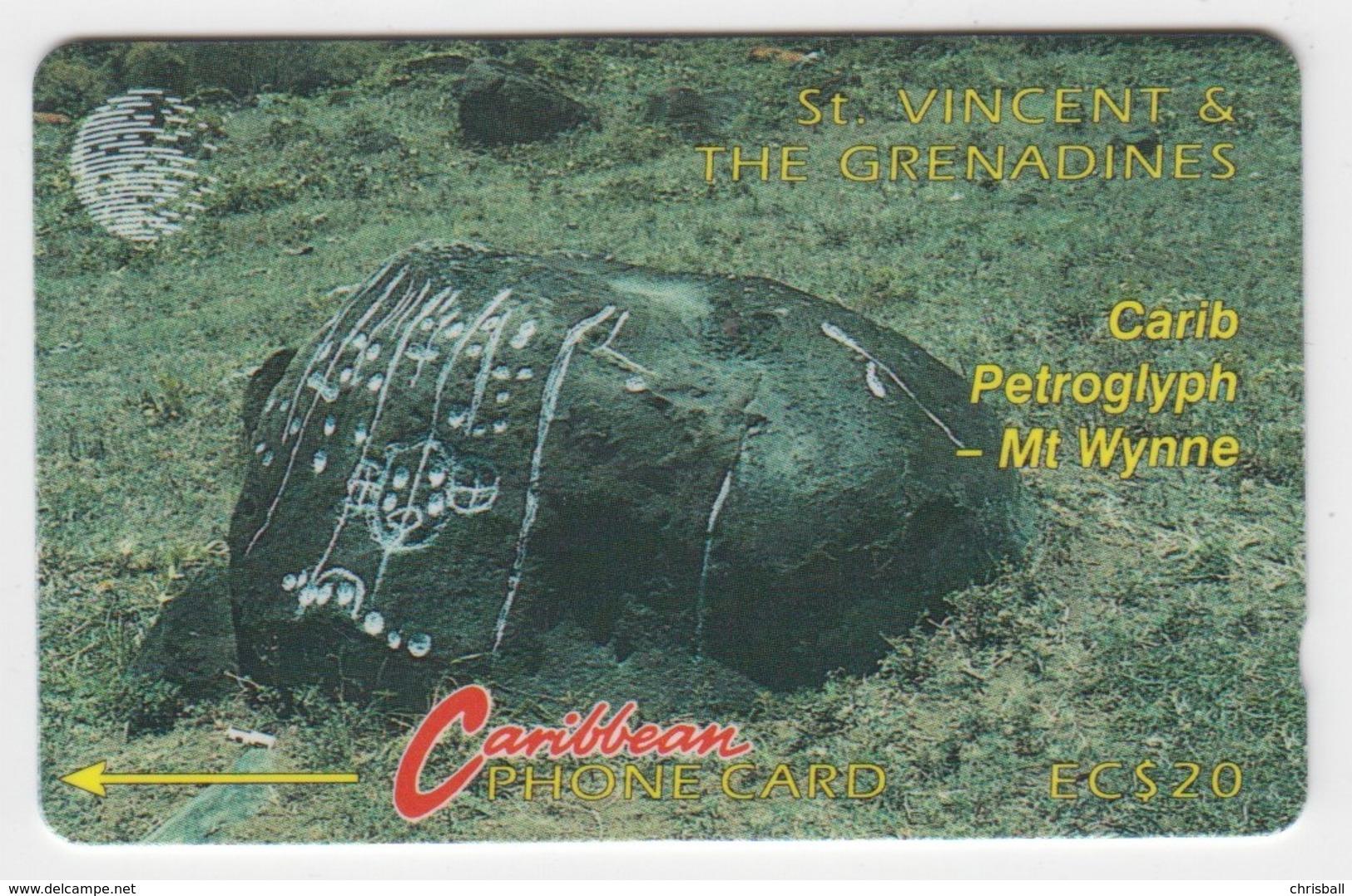 St Vincent GPT Phonecard (Fine Used) Code 5CSVB - San Vicente Y Las Granadinas