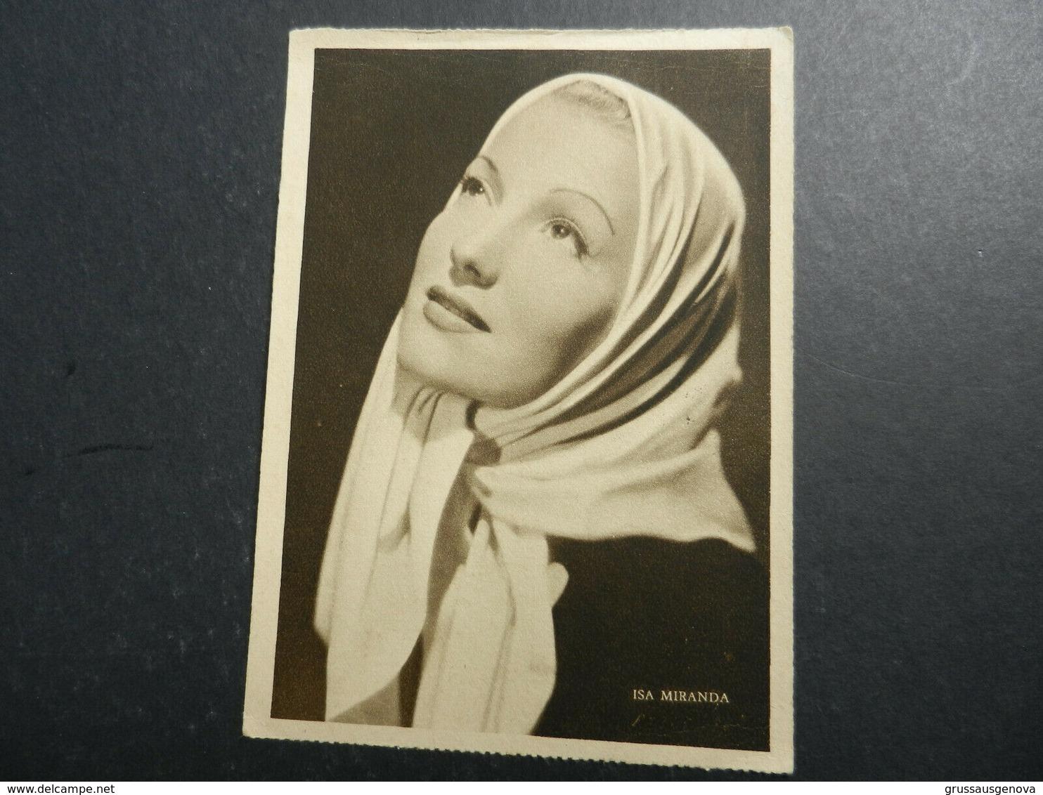 19944) ISA MIRANDA ATTRICE VIAGGIATA 1941 - Artisti