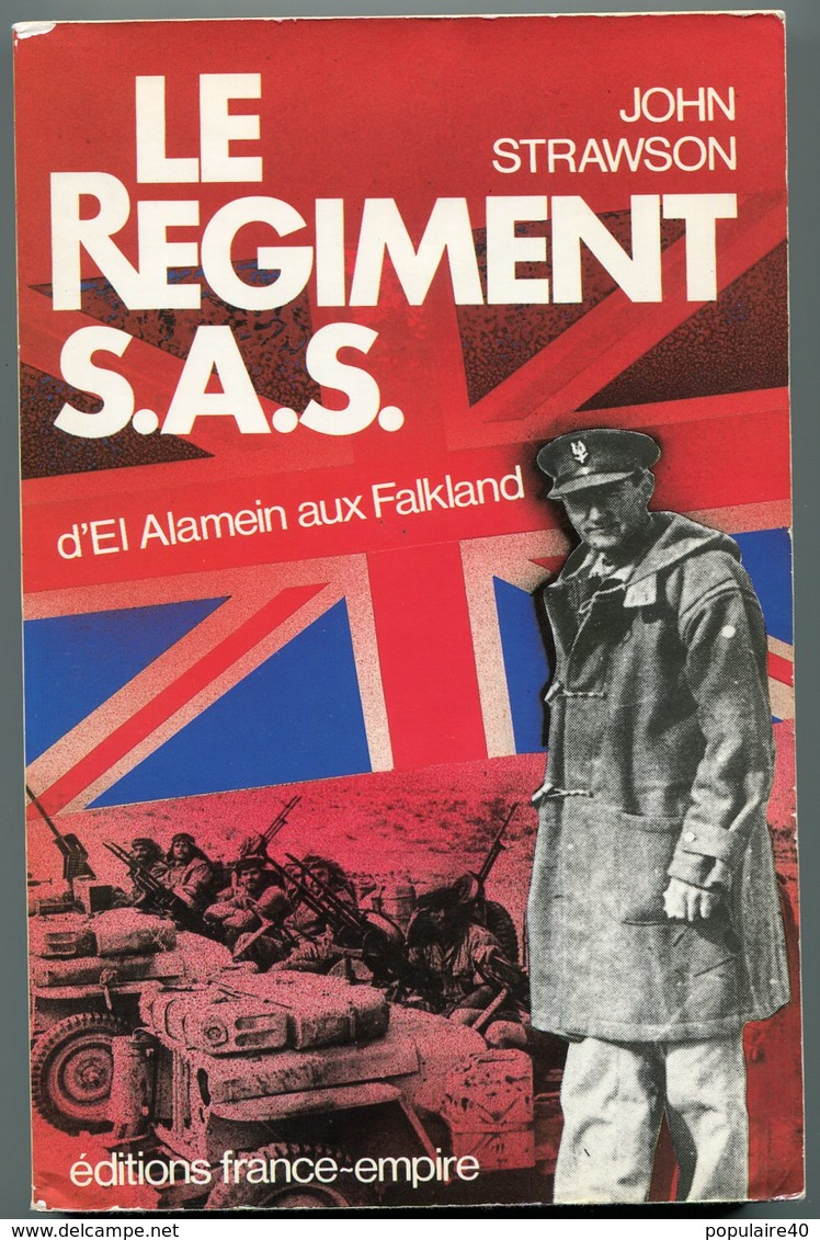 Le Régiment SAS John Strawson D'El Alamein Aux Falkland France Empire WWII 1985 - Libros
