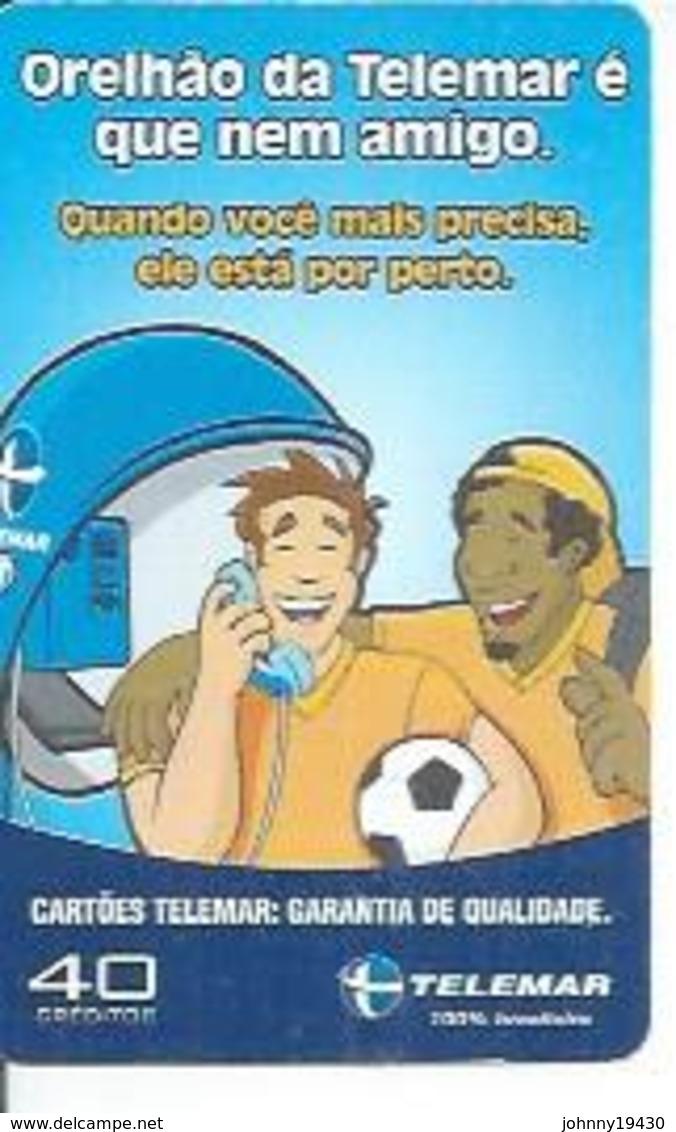 TELEMAR 40 - ORELHAO DA TELEMAR...   - BRESIL 12/2002 - Brésil
