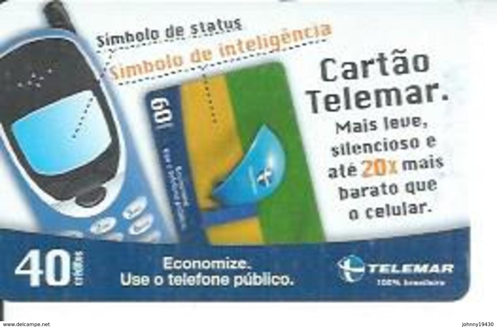 TELEMAR 40 - SIMBOLO DE STATUS   - BRESIL 03/2003 - Brésil