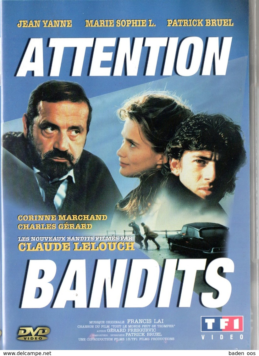 Claude Lelouch - Attention Bandit - Komedie