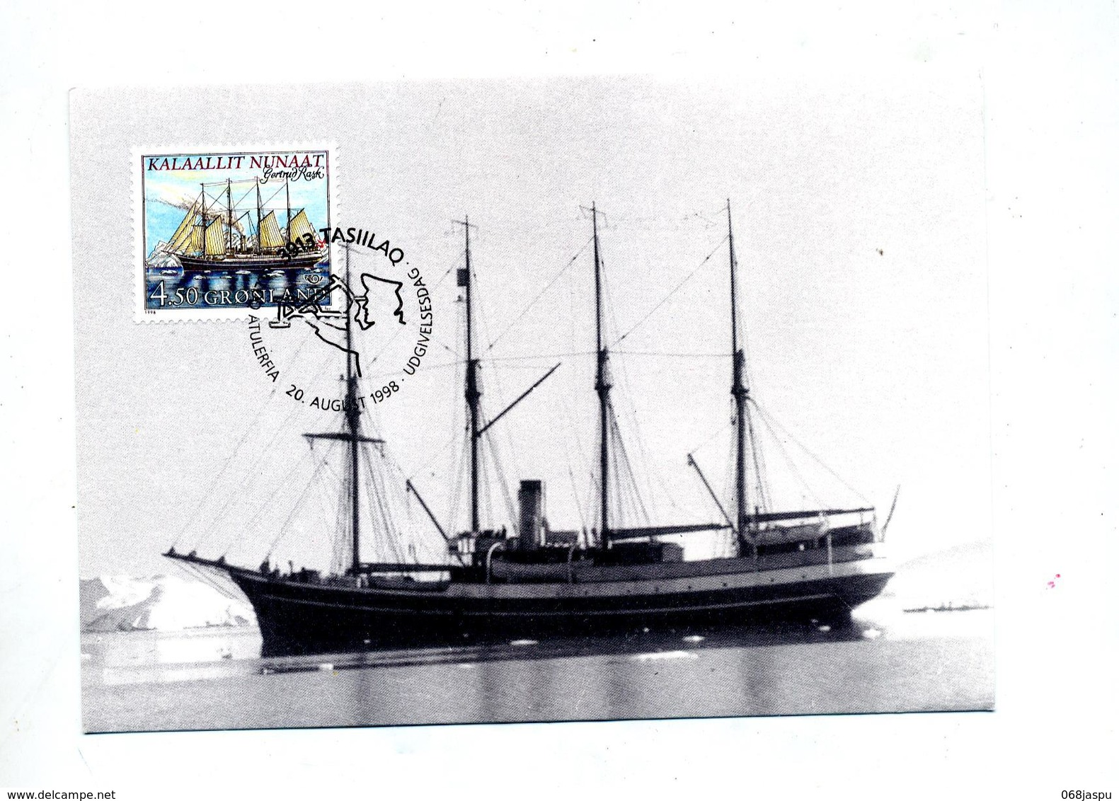 Carte Maximum 1998 Bateau - Maximumkarten (MC)
