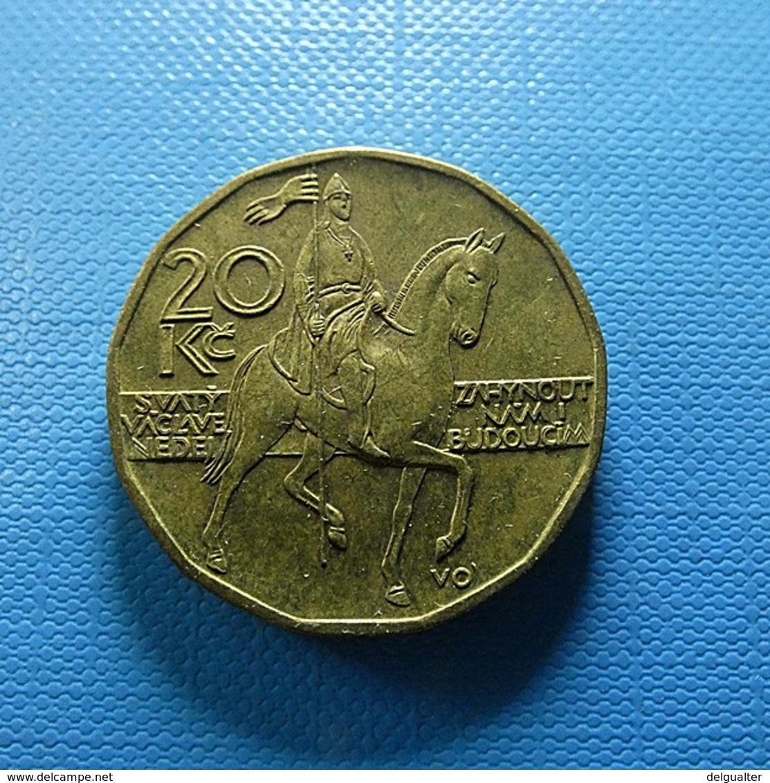 Czech Republic 20 Korun 1998 - Tschechische Rep.