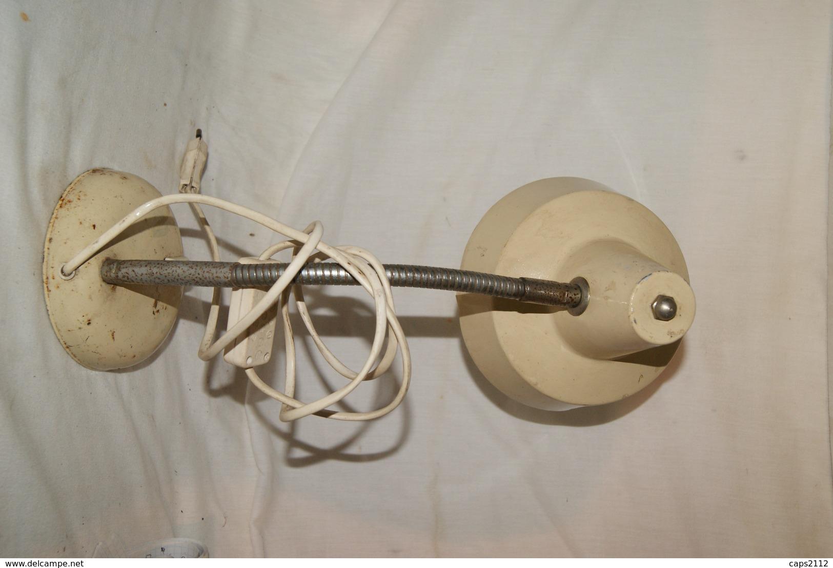 ANCIENNE LAMPE DE BUREAU TOLE *deco,loft,vintage - Lampen