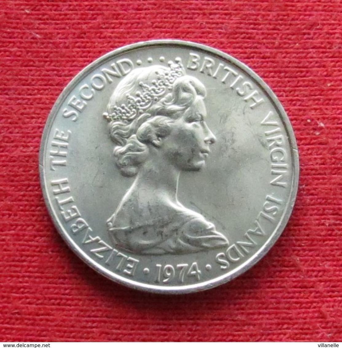 British Virgin Islands 5 Cents 1974 KM# 2 - British Virgin Islands