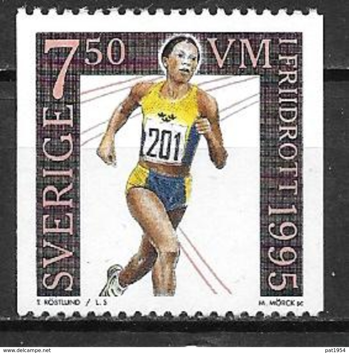 Suède 1995 N°1876 Neuf Athlétisme - Suède