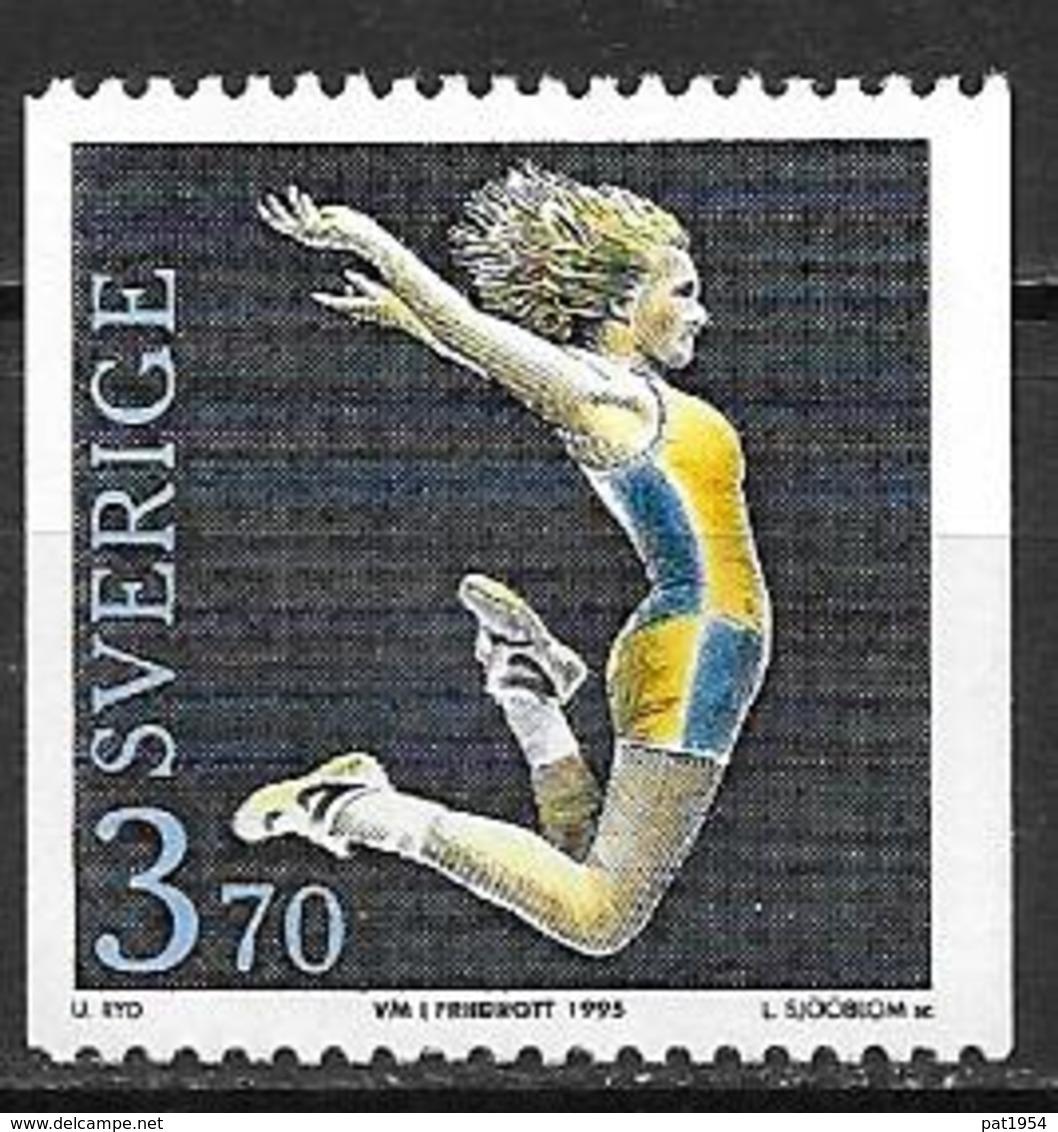 Suède 1995 N°1864 Neuf Athlétisme - Ongebruikt