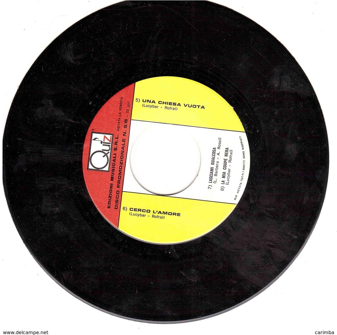 QUIZ DISCO PROMOZIONALE N.5/A - Disco, Pop