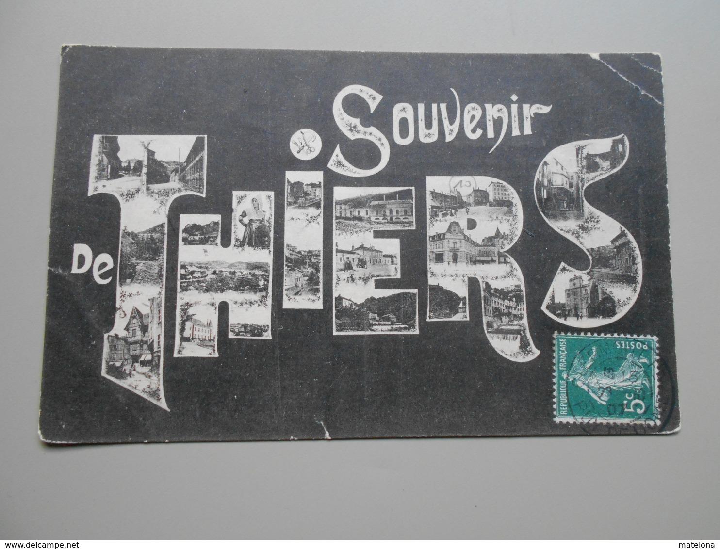 PUY DE DOME SOUVENIR DE THIERS - Thiers